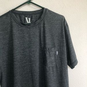 Vuori front pocket short sleeve heather t shirt XL